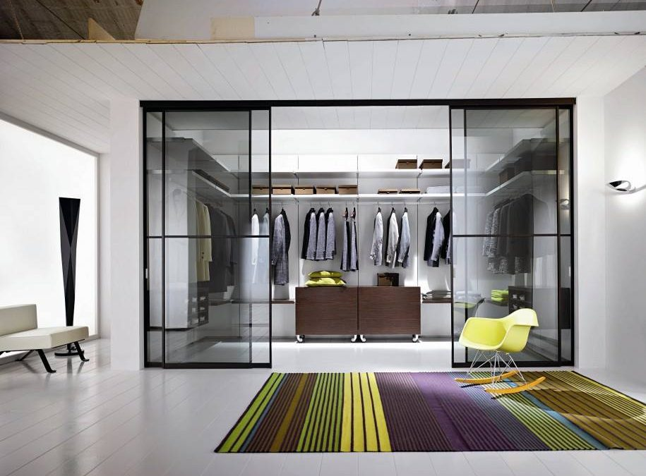 The pros of fitted wardrobes